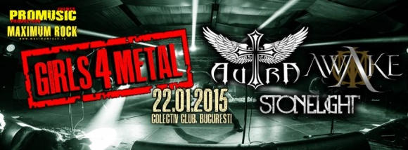Editia pilot Girls 4 Metal in Club Colectiv