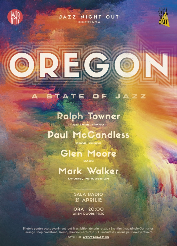 Jazz Night Out: Oregon la Sala Radio