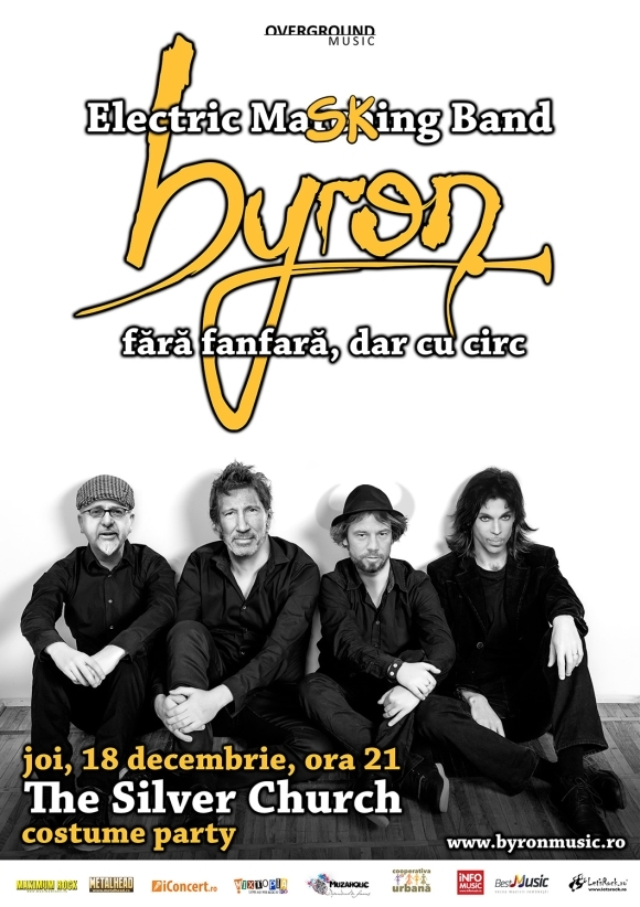 byron in The Silver Church Club - concert si bal mascat aniversar