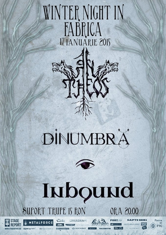 Concert An Theos, DinUmbra si Inbound in Club Fabrica