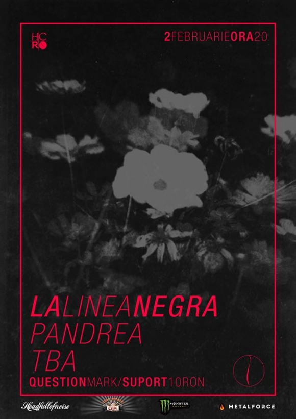 Concert La Linea Negra, Pandrea si TBA in Question Mark