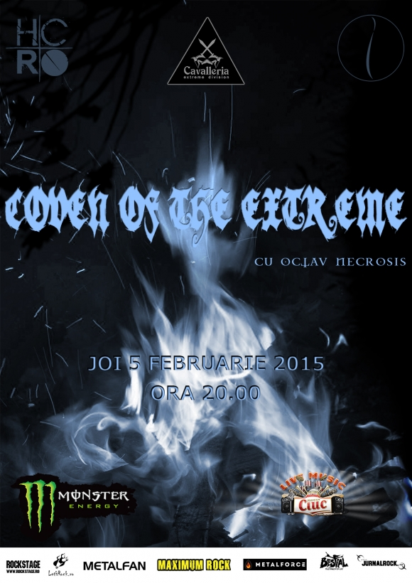 Coven of the Extreme cu Octav Necrosis in Question Mark