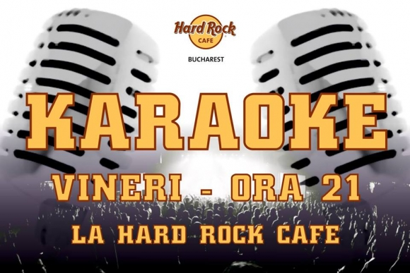Karaoke Star la Hard Rock Cafe, 20 februarie 2015