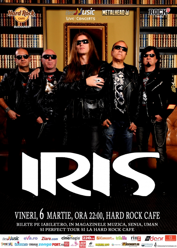Concert Iris la Hard Rock Cafe, Bucuresti