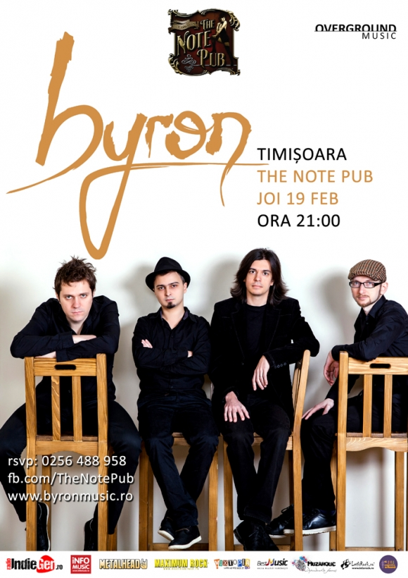 Concert byron in The Note Pub din Timisoara
