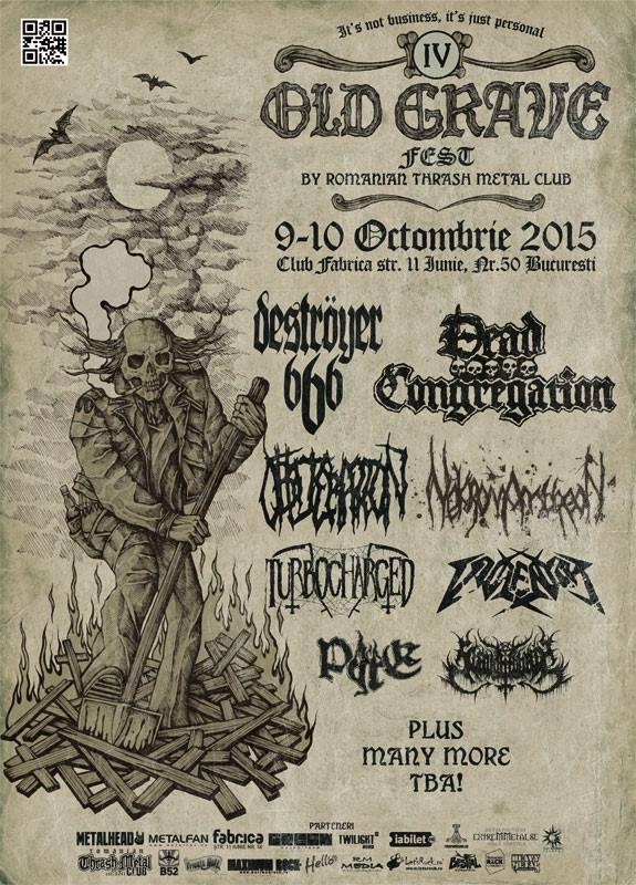 Destroyer 666, Violentor, Turbocharged si Slaughtbbath la Old Grave Fest 2015