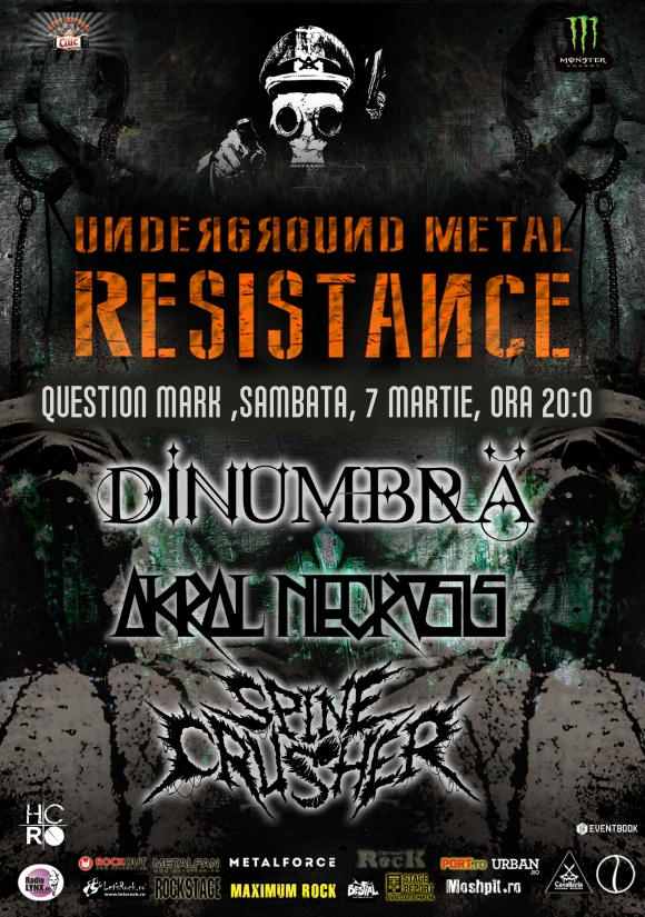 Extreme Night in cadrul Underground Metal Resistance Fest IV in Question Mark