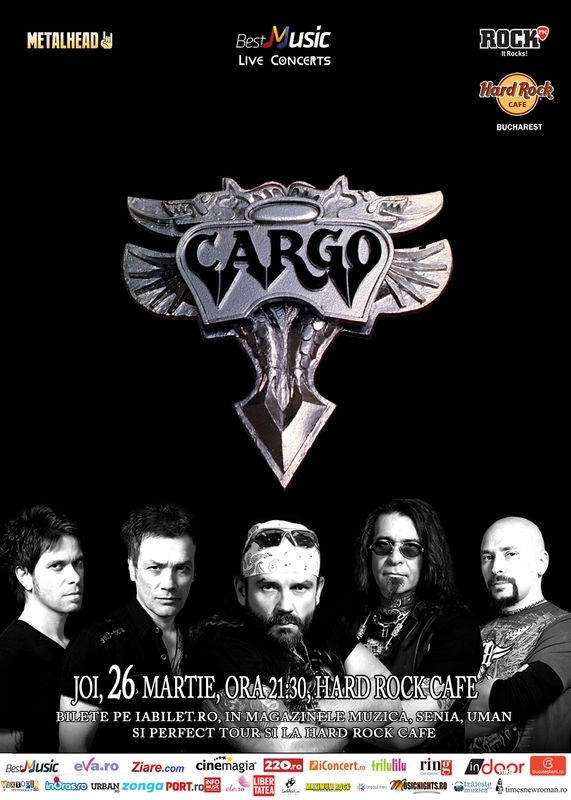 Cargo canta in Hard Rock Cafe