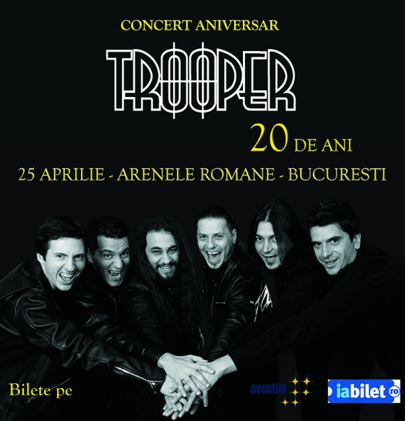 Concert aniversar Trooper-20, 20 ani de Trooper