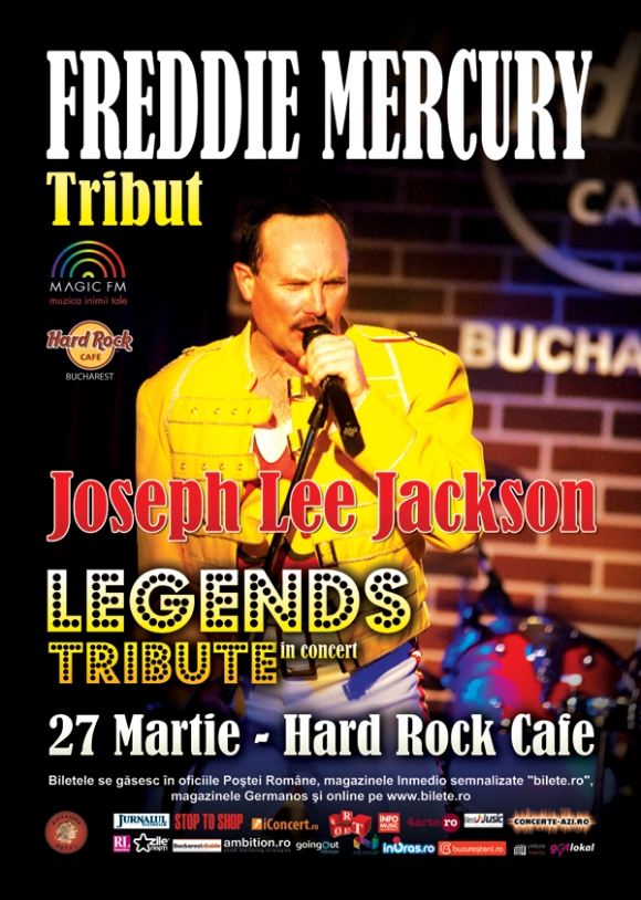 Concert tribut Freddie Mercury la Hard Rock Cafe