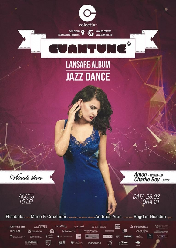 Cuantune lanseaza albumul Jazz Dance in Club Colectiv