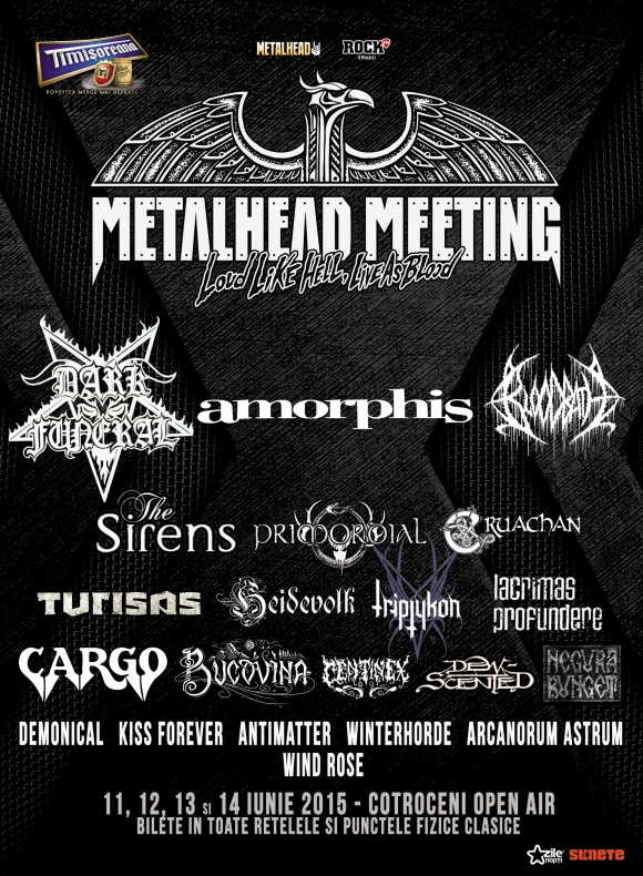 Inca 6 confirmari la Metalhead Meeting 2015