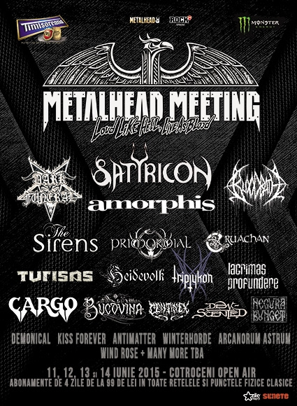 Satyricon in premiera in Romania la Metalhead Meeting 2015