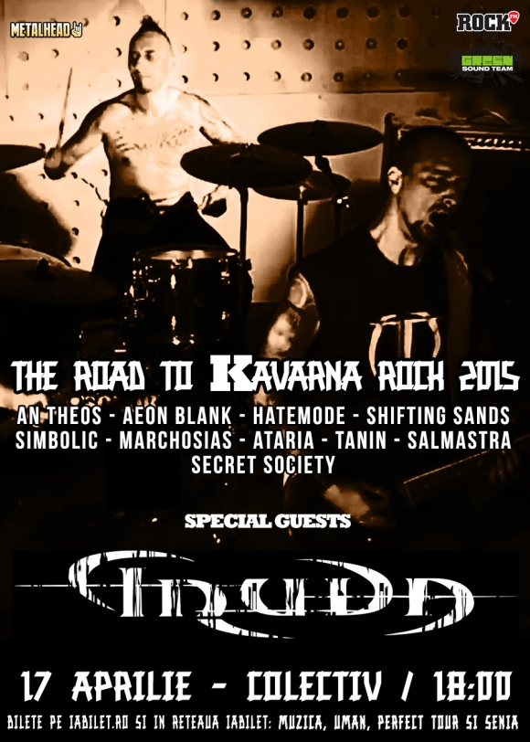 The Road To Kavarna Rock - Metalhead trimite doua trupe la festivalul Kavarna Rock
