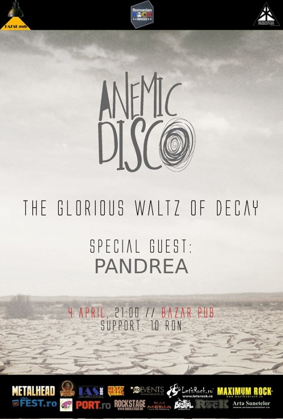Anemic Disco lanseaza The Glorious Waltz Of Decay in Bazar Pub din Brasov