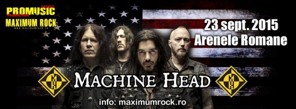 Biletele promotionale la concertul Machine Head