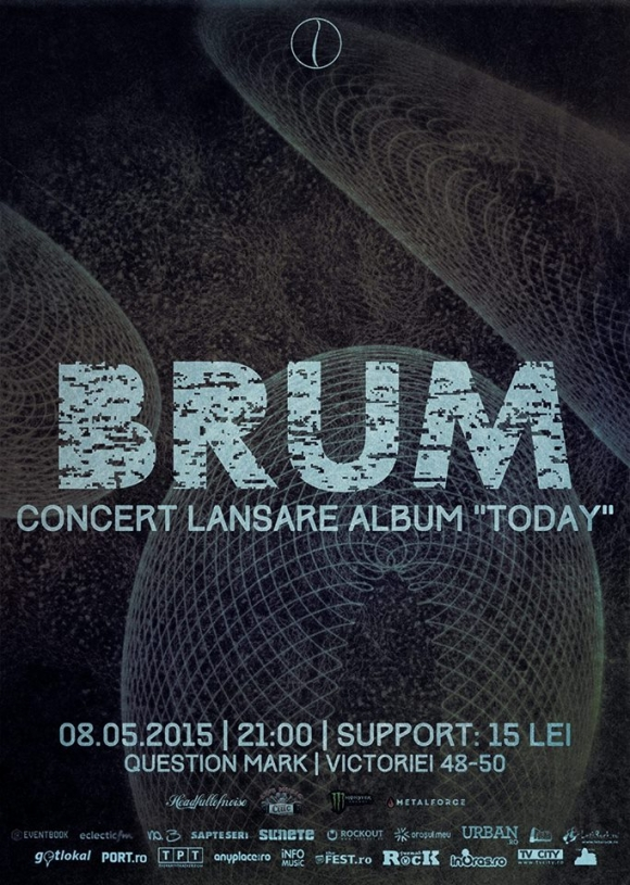 "Brum lanseaza albumul ""Today"" in Question Mark"