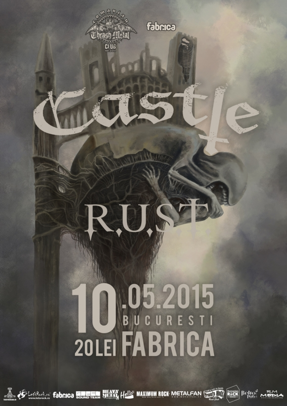 Castle si R.U.S.T. live in Club Fabrica