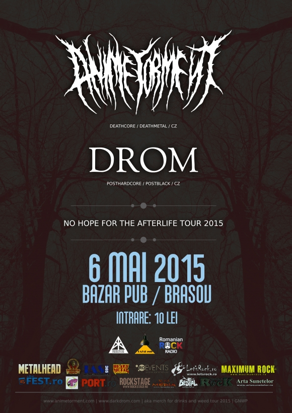 Concert Anime Torment si Drom in Brasov
