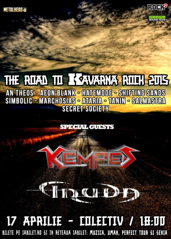 Concert Kempes alaturi de Truda la The Road To Kavarna Rock in Colectiv
