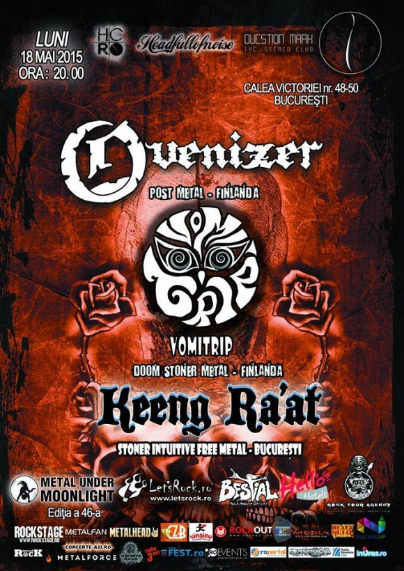 Concert Overnizer, Vomitrip si Keeng Ra'at in Question Mark