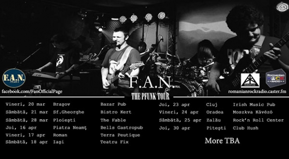 Noi concerte F.A.N. in turneul The Pfunk Tour