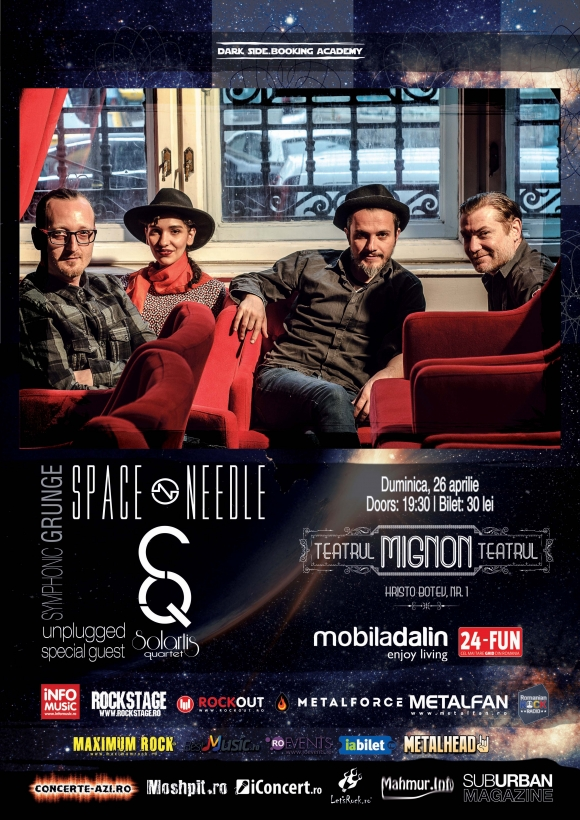 Space Needle unplugged si Solartis Quartet la Teatrul Mignon
