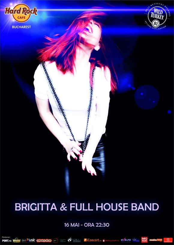 Concert Brigitta si The Full House Band in Hard Rock Cafe