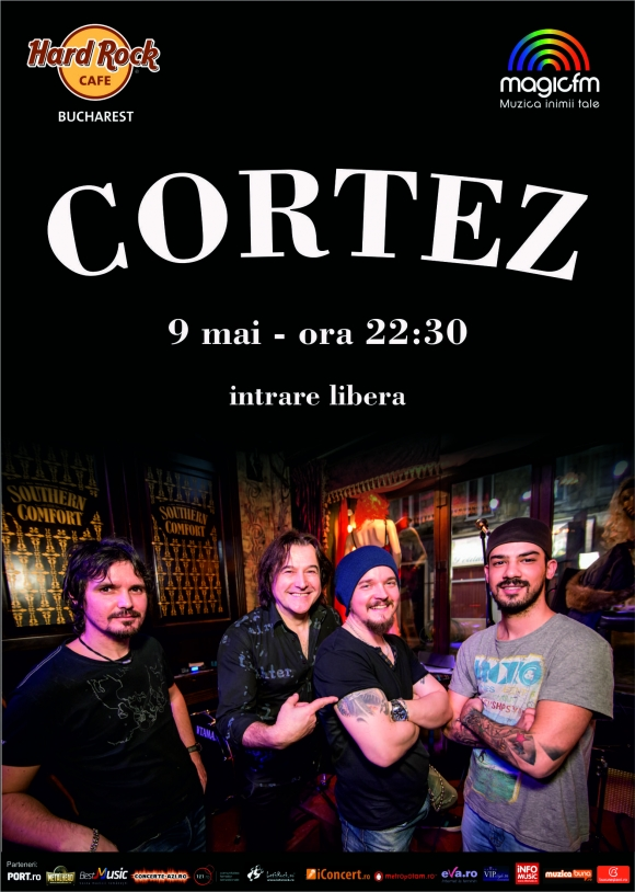 Concert Cortez Band in Hard Rock Cafe