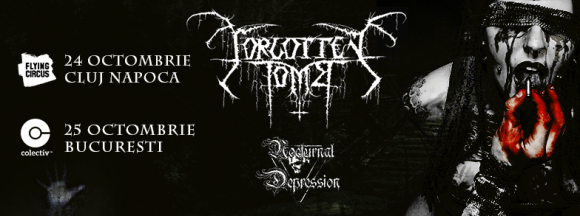 Concert Forgotten Tomb si Nocturnal Depression in Club Colectiv