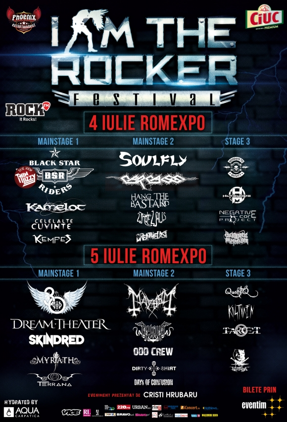Festivalul I AM THE ROCKER se reconfigureaza