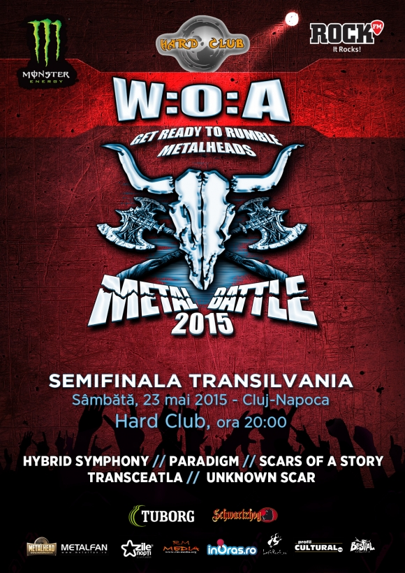 Trupa God The Barbarian Horde – special guest la Wacken Metal Battle Romania 2015 - finala nationala