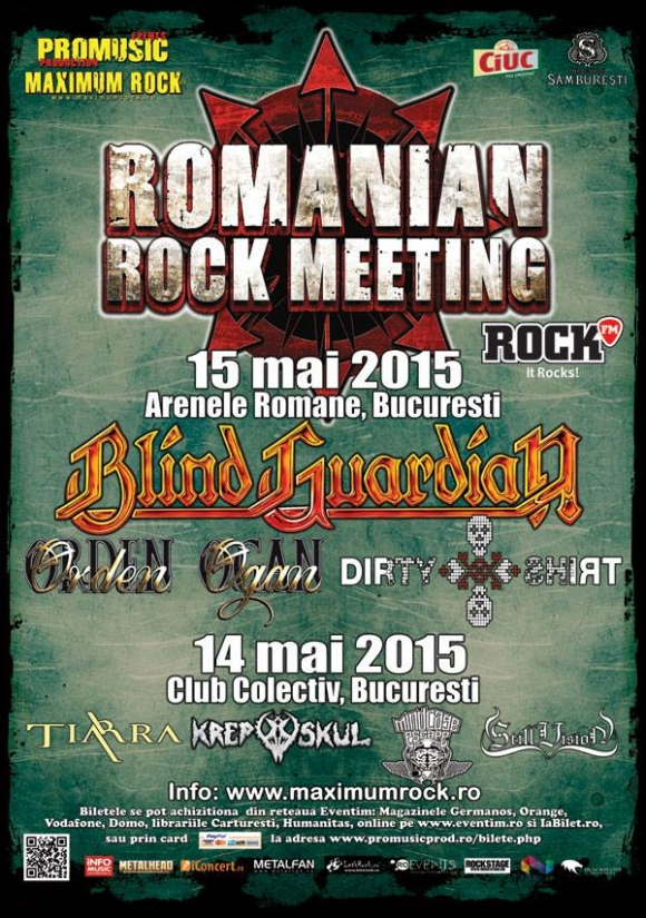 Un nou concurs cu invitatii la Romanian Rock Meeting 2015