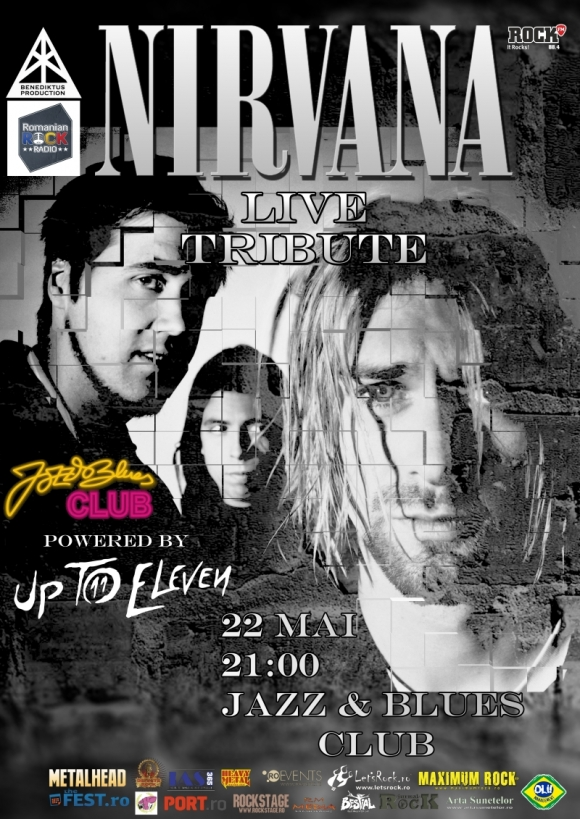 Up To Nirvana in concert la Targu Mures