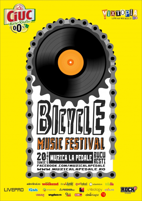 Bicycle Music Festival in Bucuresti