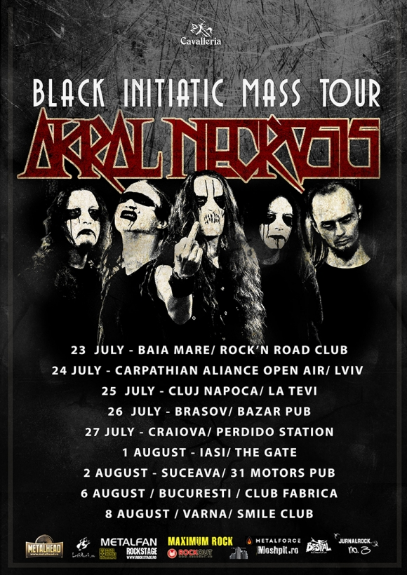 Black Initiatic Mass Tour - turneul Akral Necrosis