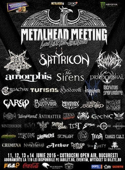 Festivalul Metalhead Meeting la Bucuresti