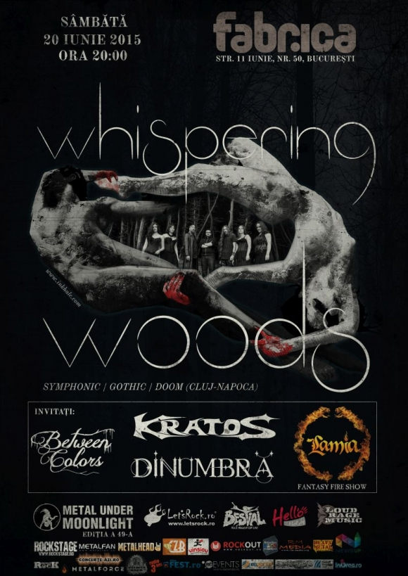 Spectacol complet la concertul Whispering Woods din 20 iunie