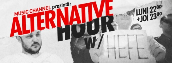"Pistol cu Capse – invitati la ""Alternative Hour"" pe Music Channel"