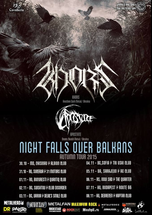 Khors si Apostate – Night Falls Over Balkans Tour