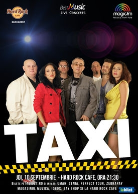 Trupa TAXI in concert extraordinar la Hard Rock Cafe