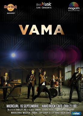 VAMA in concert la Hard Rock Cafe