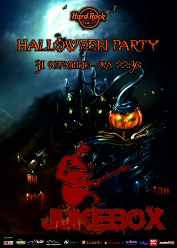 Halloween Party cu JUKEBOX in Hard Rock Cafe