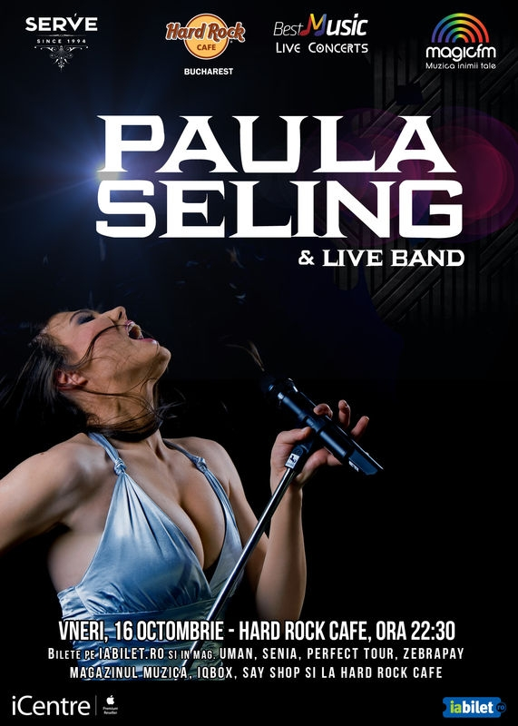 PAULA Seling & Band la Hard Rock Cafe