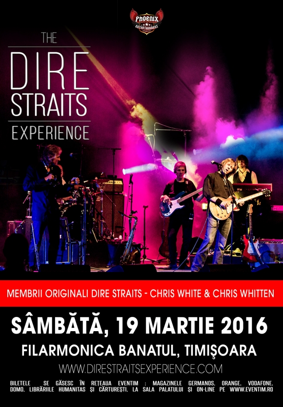 """The Dire Straits Experience Tour"" in Timisoara, la Filarmonica Banatul"