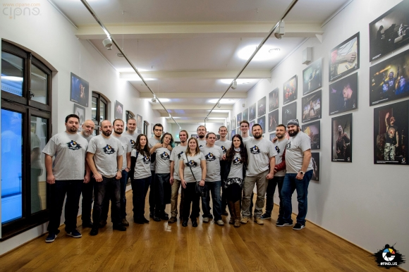 Doar o zi pana la vernisajul expozitiei #FIND_US de la hanul Gabroveni