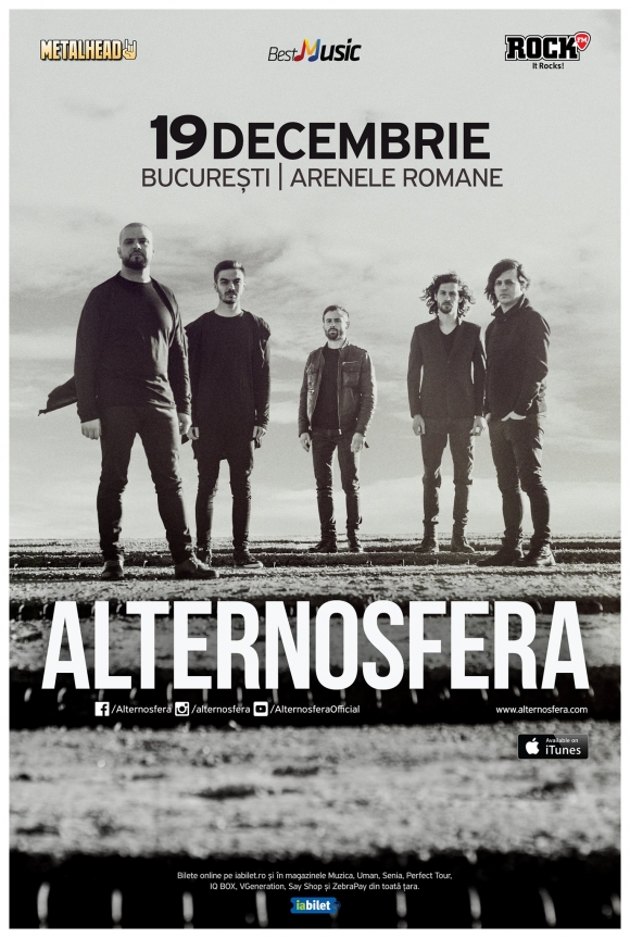Trupa Alternosfera in concert la Bucuresti