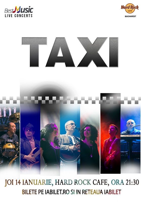 Trupa Taxi in concert la Hard Rock Cafe