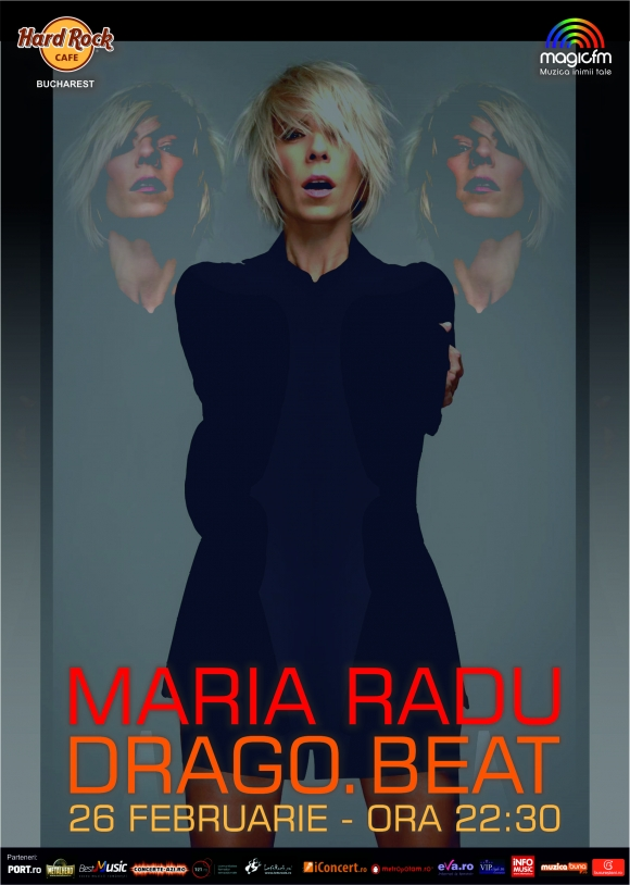 Concert Maria Radu & Band la Hard Rock Cafe