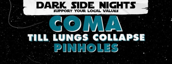 Concert Till Lung Collapse, Pinholes si Coma in Club Fabrica